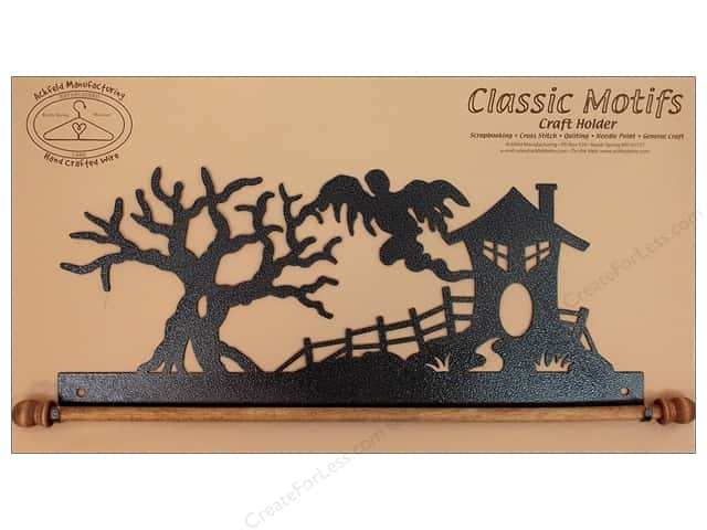 Ackfeld Craft Holders 16 in. Haunted House Silver