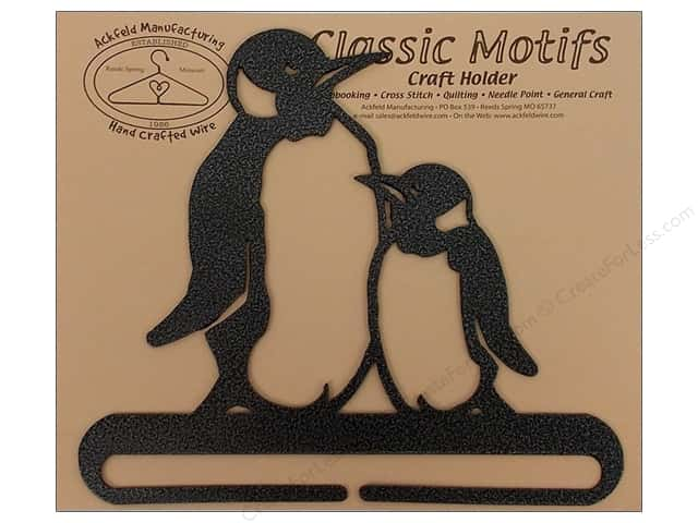 Ackfeld Craft Holders Split Bottom 6 in. Penguin Silver