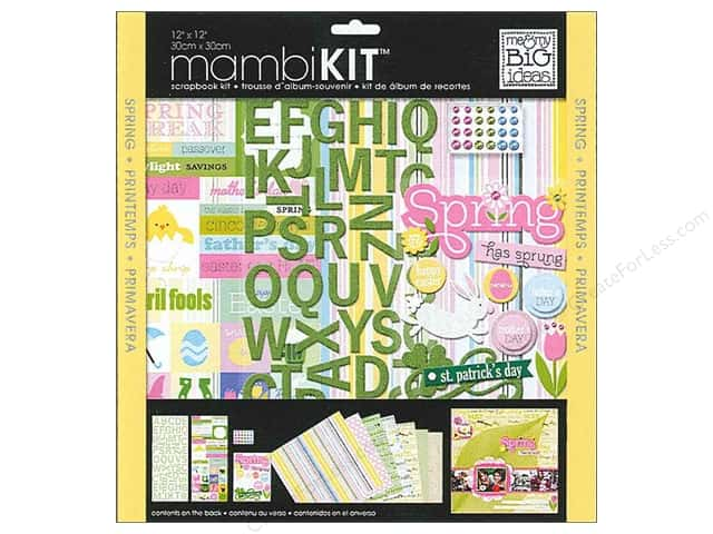 "Me&My Big Ideas Kit Scrapbook 12""x 12"" Spring Holidays"