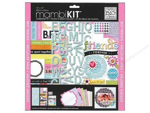 "Me&My Big Ideas Kit Scrapbook 12""x 12"" Friends Forever"
