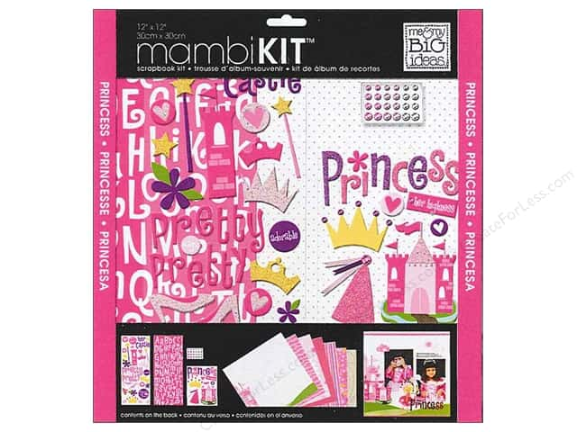 Me & My Big Ideas 12 x 12 in. Scrapbook Kit Little Princess