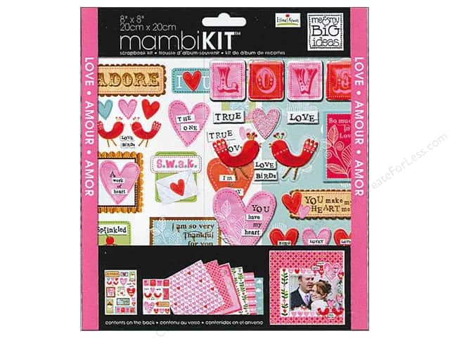 "Me&My Big Ideas Kit Scrapbook 8""x 8"" Ellen Love"
