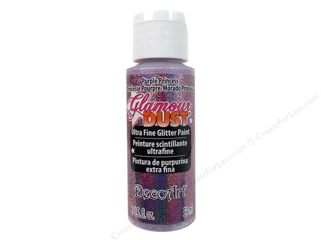DecoArt Glamour Dust 2oz Purple Princess
