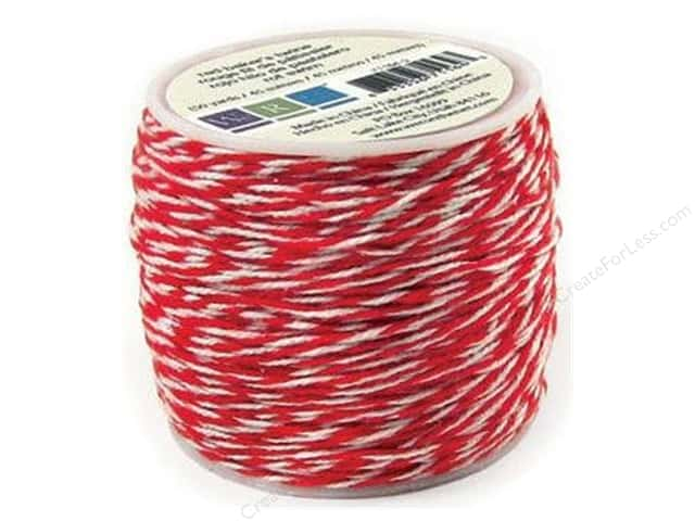 We R Memory Baker's Twine Sew Easy Red 50yd