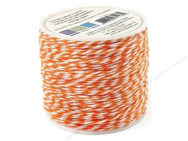 We R Memory Baker's Twine Sew Easy Orange 50yd