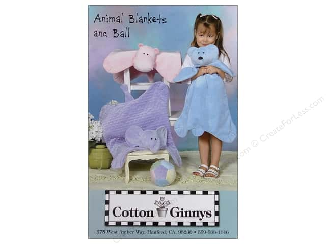 Cotton Ginnys Animal Blankets & Ball Pattern