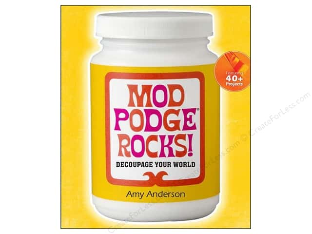 Lark Mod Podge Rocks! Book