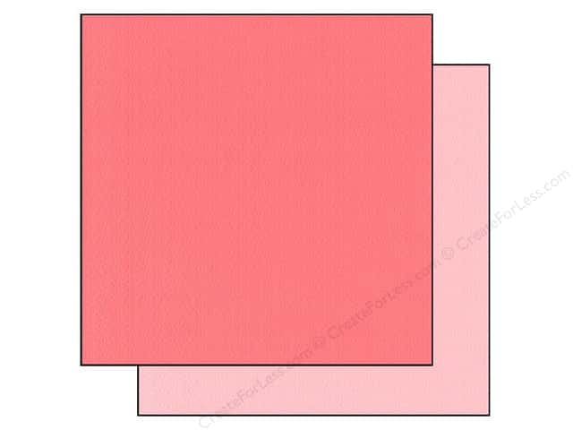 "Bazzill Cardstock 12""x 12"" 25pc TwoScoops Strawberry Cheesecake"