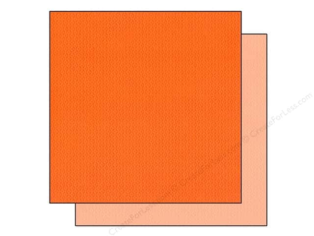 "Bazzill Cardstock 12""x 12"" 25pc TwoScoops Orange Sorbet"