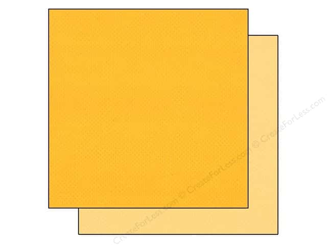 "Bazzill Cardstock 12""x 12"" 25pc TwoScoops Lemon Custard"