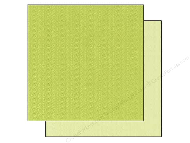 Bazzill 12 x 12 in. Cardstock Two Scoops #304818 Key Lime Pie 25 pc.