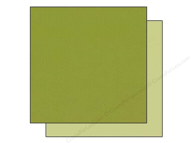 Bazzill 12 x 12 in. Cardstock Two Scoops #304819 Mint Chip 25 pc.