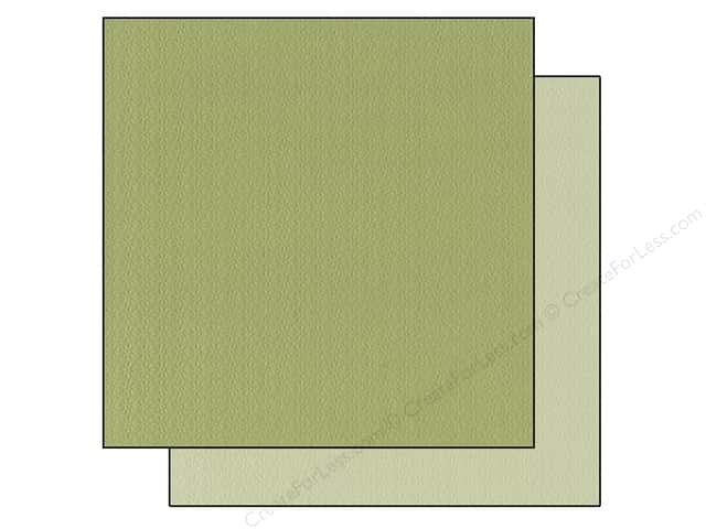 "Bazzill Cardstock 12""x 12"" 25pc TwoScoops Irish Mint"