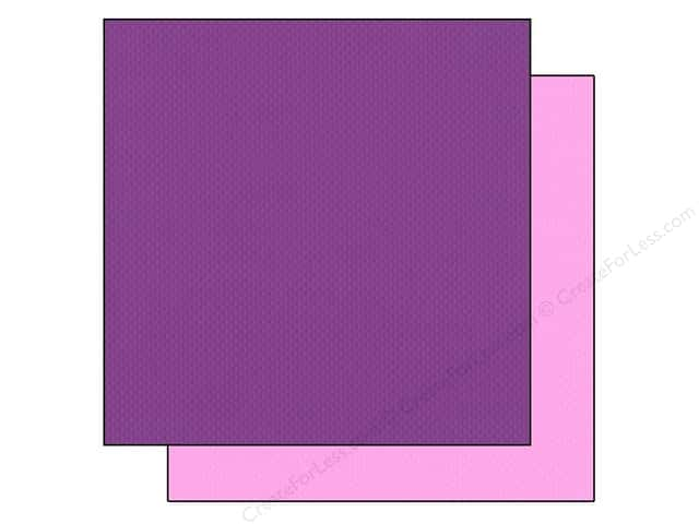 "Bazzill Cardstock 12""x 12"" 25pc TwoScoops Mountain Blackberry"