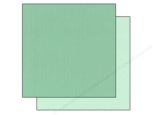 Bazzill 12 x 12 in. Cardstock Two Scoops #304826 Daiquiri Ice 25 pc.