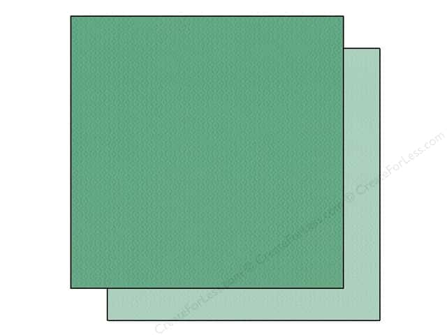 Bazzill 12 x 12 in. Cardstock Two Scoops #304827 Pistachio Nut 25 pc.