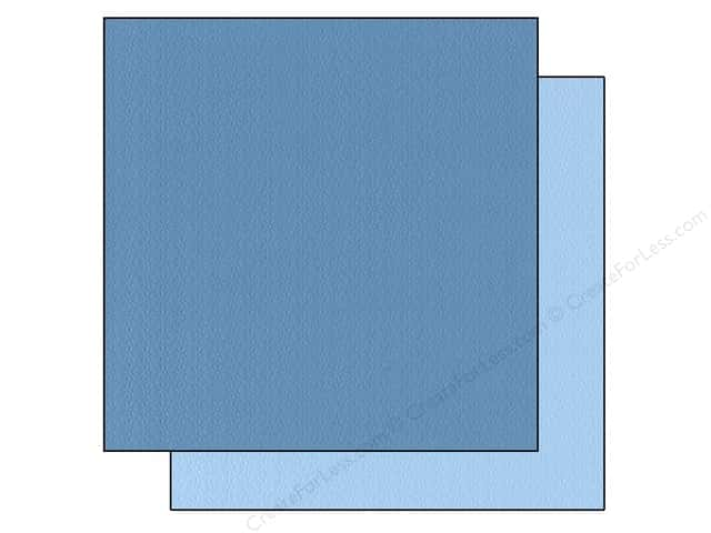 "Bazzill Cardstock 12""x 12"" 25pc TwoScoops Blue Hawaiian"