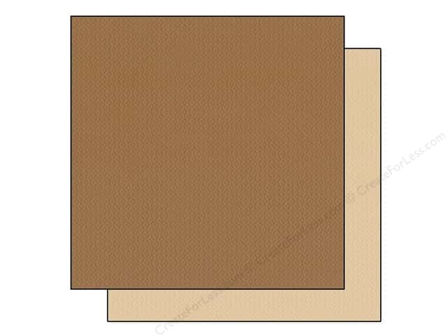 "Bazzill Cardstock 12""x 12"" 25pc TwoScoops Fudge Ripple"