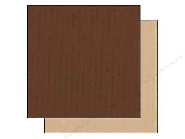 "Bazzill Cardstock 12""x 12"" 25pc TwoScoops Moose Tracks"
