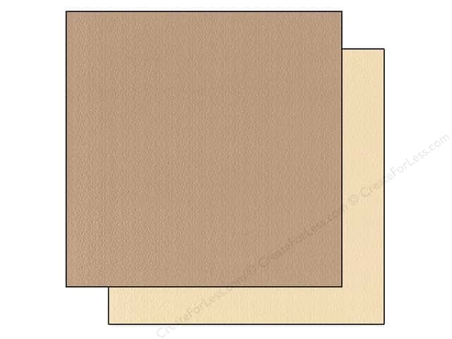 "Bazzill Cardstock 12""x 12"" 25pc TwoScoops Cookies & Cream"