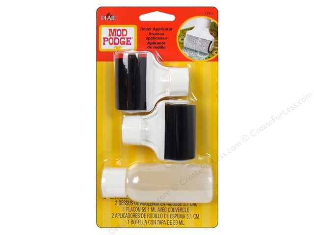 Plaid Mod Podge Tools Roller Applicator with 2oz Bottle