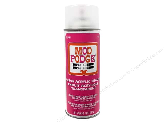 Plaid Mod Podge Spray Sealer Super Hi Shine 11oz