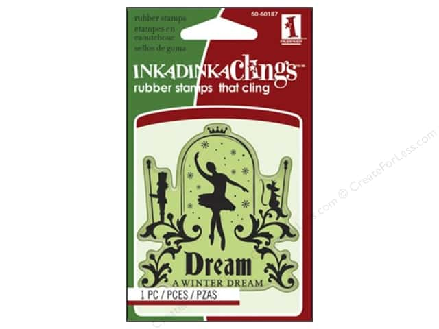 Inkadinkado Stamp Inkadinkaclings Mini Ballet Dream