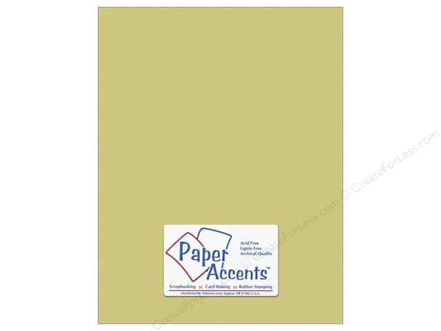 Cardstock 8 1/2 x 11 in. #10147 Stash Builder Textured Cactus by Paper Accents (25 sheets)
