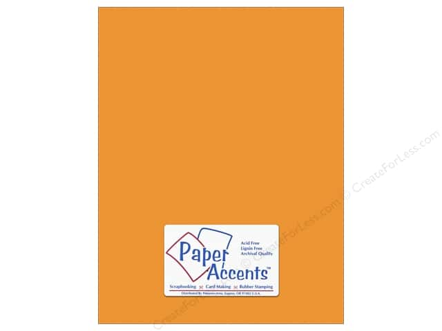 Cardstock 8 1/2 x 11 in. #10151 Stash Builder Textured Butternut by Paper Accents (25 sheets)