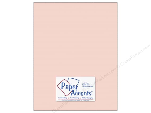 Cardstock 8 1/2 x 11 in. #10166 Stash Builder Textured Berry Smooth by Paper Accents (25 sheets)