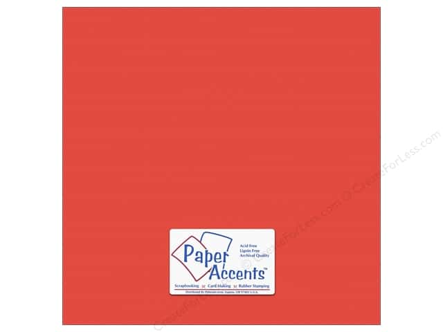 Cardstock 12 x 12 in. #10164 Stash Builder Textured Clown Fish by Paper Accents (25 sheets)