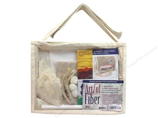 C&T Publishing Artful Fiber Mixed Fibers & Surfaces Pack