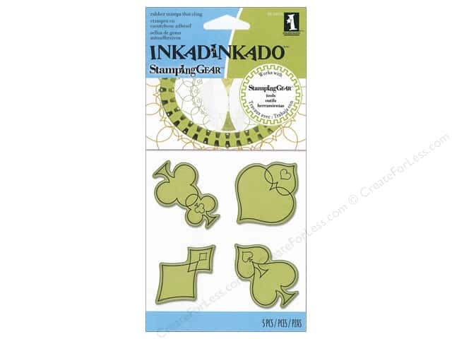 Inkadinkado InkadinkaClings Rubber Stamp Elegant Suit