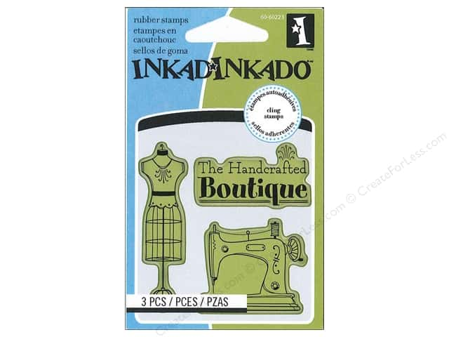 Inkadinkado Cling Stamp Mini Craft Room Icon