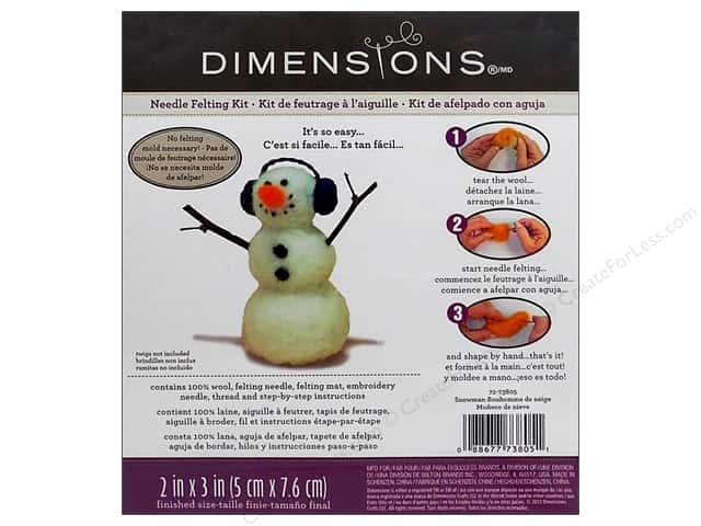 Dimensions Needle Felting Kit