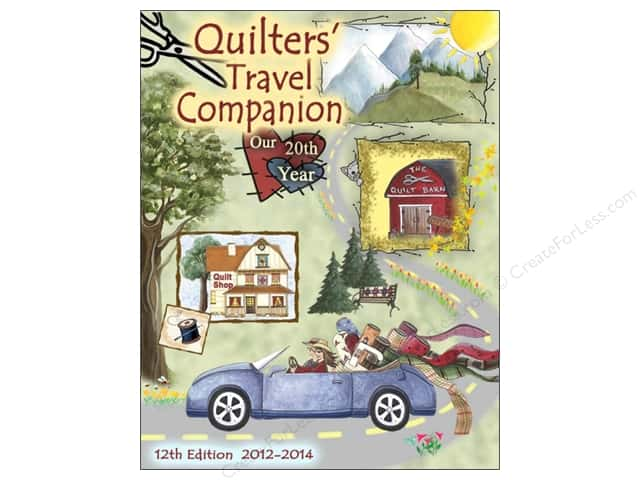 Chalet Publishing Quilters Travel Companion 12th Edition 2012-2014 Book