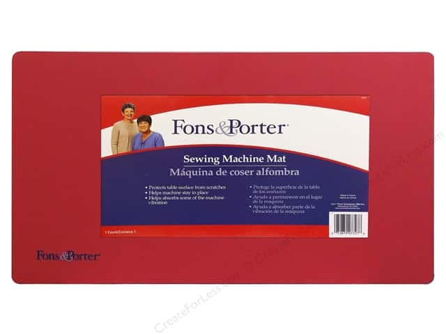 Fons & Porter Notions Sewing Machine Mat