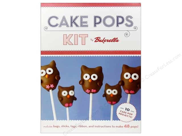 Chronicle Cake Pops Kit by Bakerella
