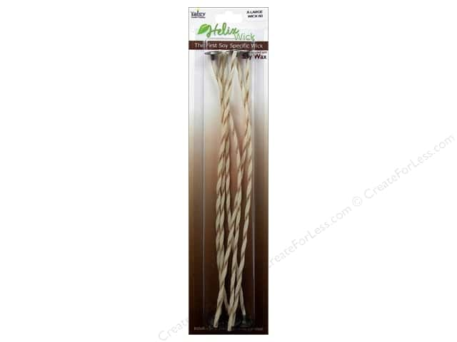 "Yaley Wick Helix & Clip 9"" Size 60 X-Large 6pc"