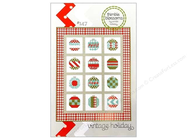 Thimble Blossoms Vintage Holiday Pattern
