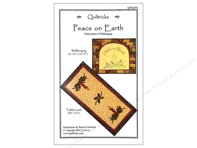 Quiltricks Peace On Earth Pattern