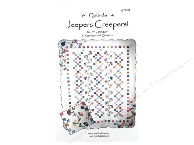 Quiltricks Jeepers Creepers Pattern