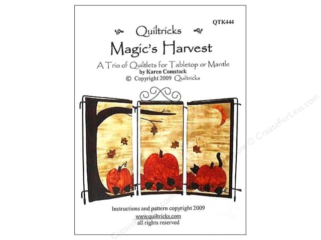Quiltricks Magic's Harvest Pattern