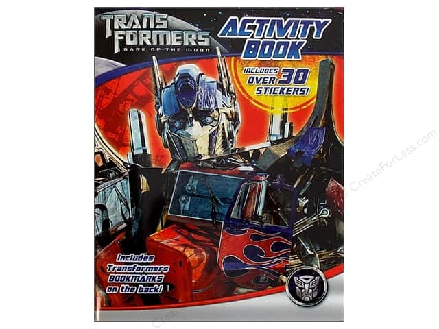 Bendon Activity Book with Stickers Transformers 3
