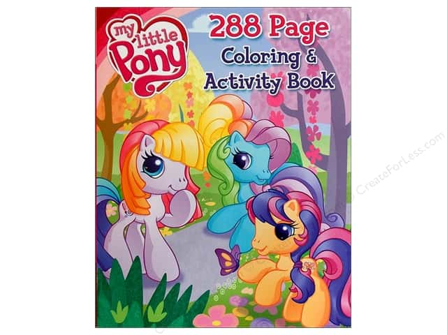 Bendon Coloring & Activity Book My Little Pony