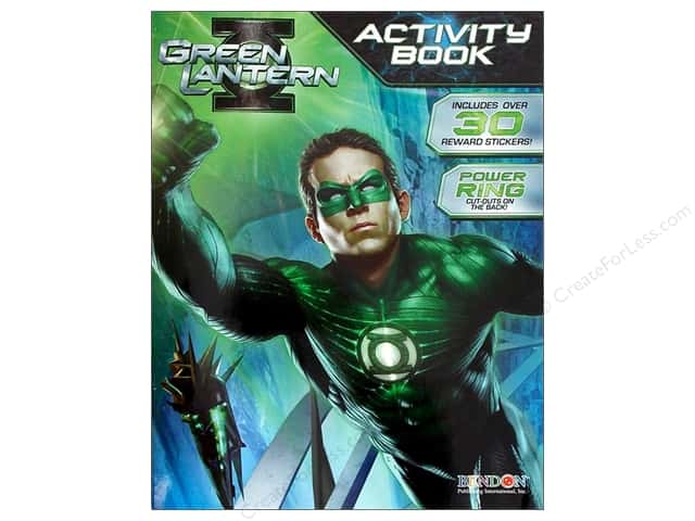 Bendon Activity Book with Stickers Green Lantern
