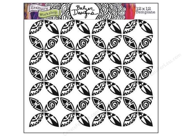 The Crafter's Workshop Template 12 x 12 in. Wedding Ring