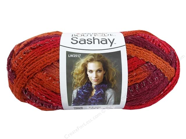 Red Heart Boutique Sashay Yarn #1949 Salsa 30 yd.