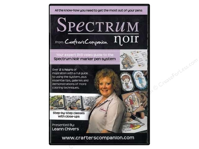 Crafter's Companion Spectrum Noir Instructional DVD