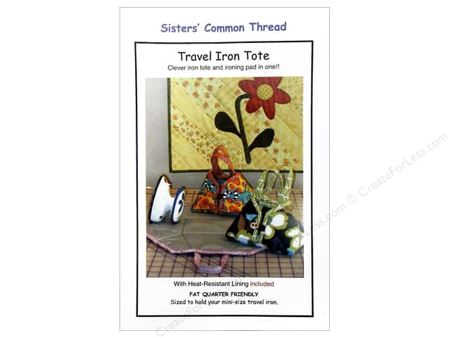 Sisters' Common Thread Travel Iron Tote Pattern